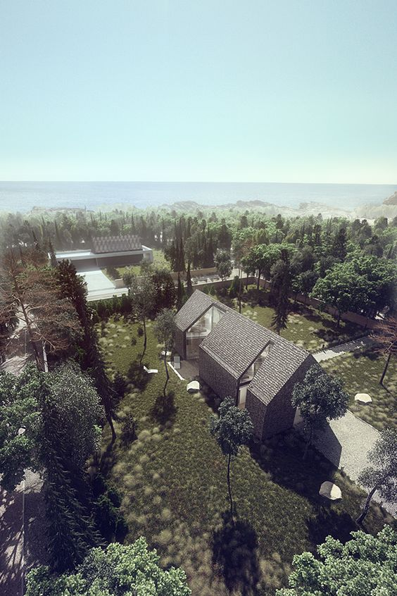 Shingle House on Behance: