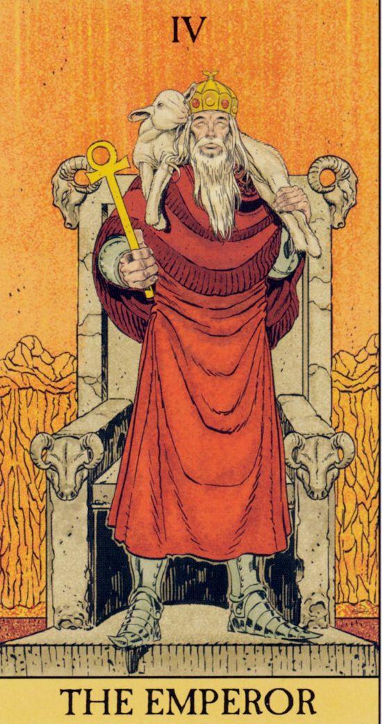 Card the emperor tarot Emperor Tarot