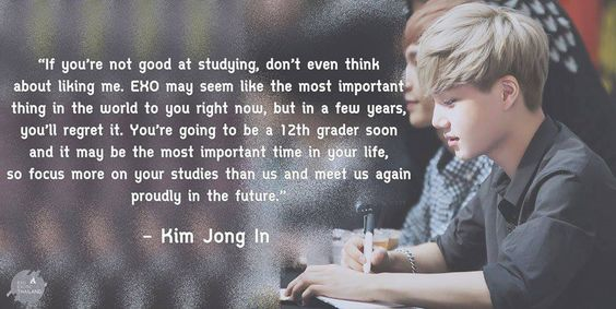Image result for kai exo study