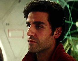 oscar isaac trash — Oscar Isaac as Poe Dameron in Star Wars: The Last...