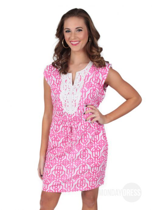 All I Ever Wanted Dress in Pink   Monday Dress Boutique