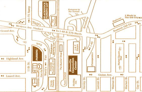 Worksheet. worlds fair map knoxville   Sites  747 Worlds Fair Park Drive