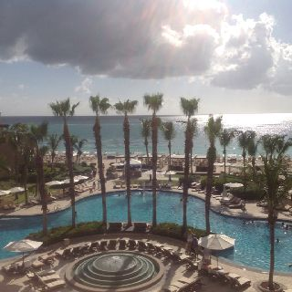 Beautiful at the grand cayman in the ritz!!