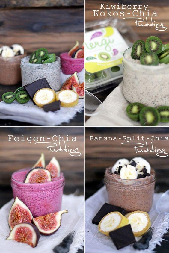 Neue Frühstücks-Rezept-Ideen mit Chia