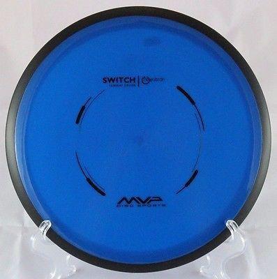 Switch Fairway Driver 171g MVP Discs Neutron Plastic Blue Golf Disc