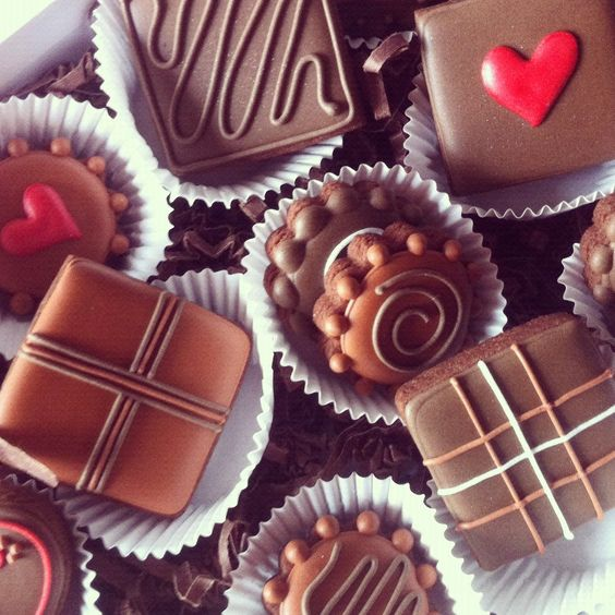 """""""Life is like a box of chocolates. You never know what your gonna get."""""""