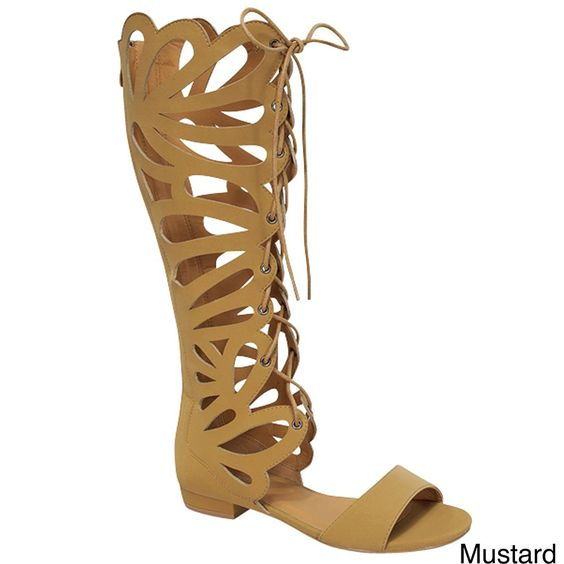 Forever Link Women's Caren-11 Gladiator Sandals * Click image to review more details.
