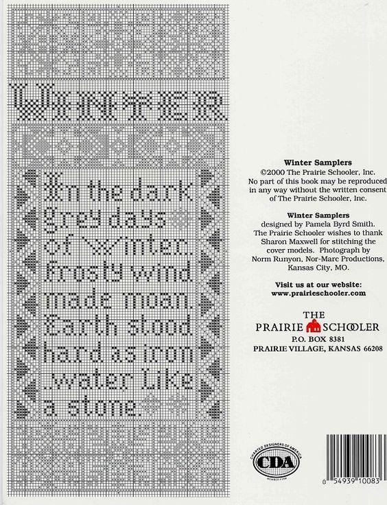 winter sampler 4 of 4 In the Bleak Midwinter, Christmas Hymn