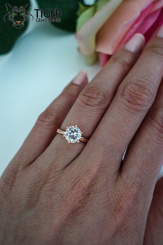 3 4 Carat Diamond On Size 7 Finger
