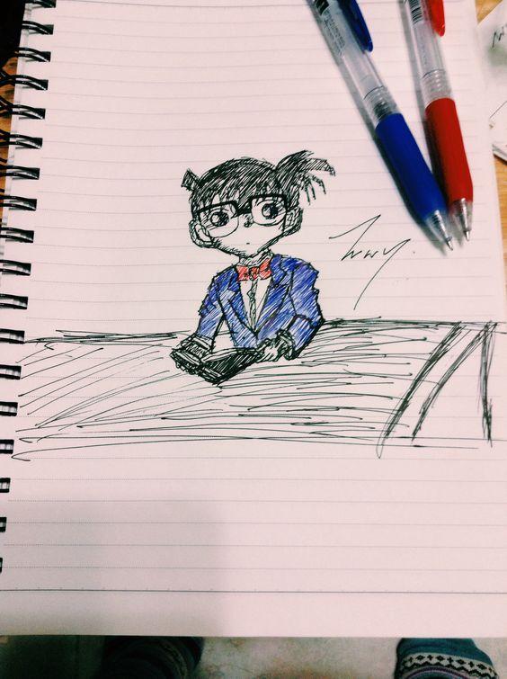 Detective conan sketch