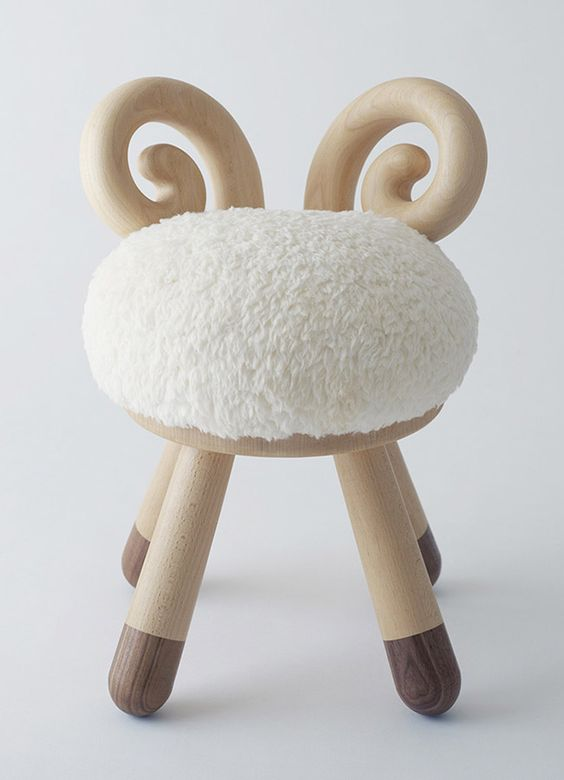 Mouton chaises and d co chambres d 39 enfants on pinterest - Deco chambre d enfants ...