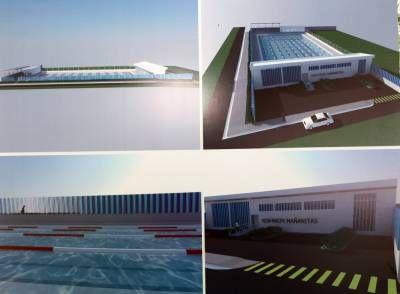 Inicia la construcción de la piscina Olímpica en Las Mañanitas
