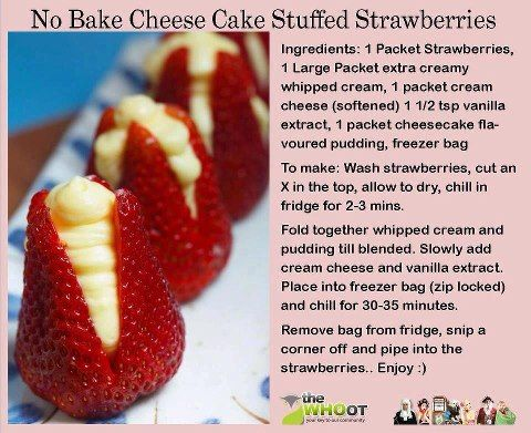 This sounds so good Cheesecake Strawberries