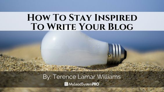 How To Stay Inspired To Write Your Blog https://t.co/AhF1Hxu36F #Solopreneur #WAHM #Mompreneur #mlm https://t.co/BjYw43itMC http://www.LifeCoachLJ.com