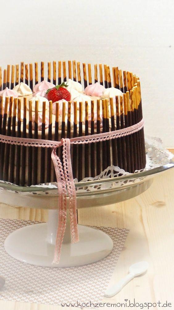 Erdbeer-Mascarpone-Torte von KochzereMoni