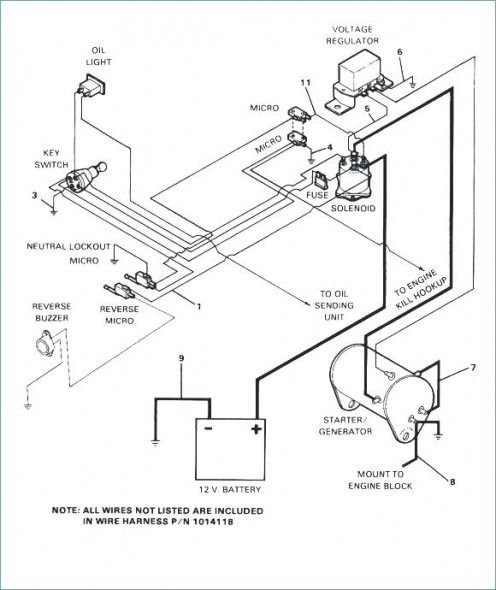 Harley Davidson Electric Golf Cart Wiring Diagram In 2020 Gas Golf Carts Electric Golf Cart Golf Carts