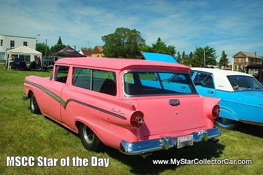 MSCC Star of the Day-this '57 Ford Ranch Wagon at a show back in June...read more: http://www.mystarcollectorcar.com/3-the-stars/40-model-stars/2036-mscc-southside-star-of-the-day.html