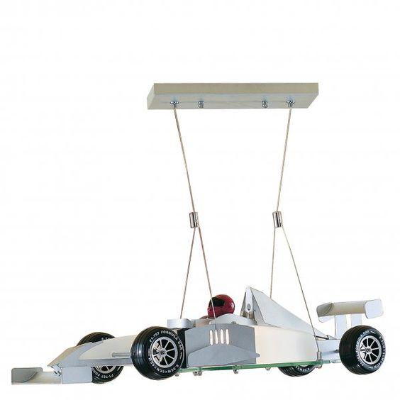 Car Ceiling Light: Searchlight Lighting F1 Racing Car Ceiling Light,Lighting
