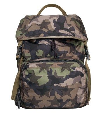 VALENTINO Nylon Camostar Backpack. #valentino #bags #nylon #backpacks #