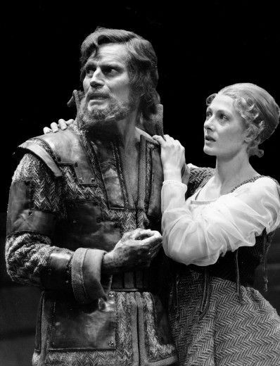 Charlton Heston and Vanessa Redgrave in 'Macbeth.'