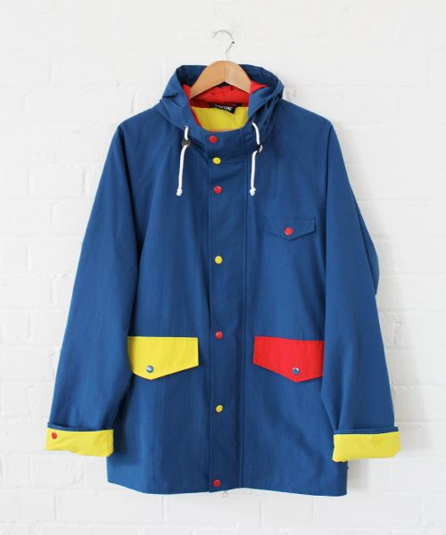 Lazy Oaf Mens Anorak. I know this is for a boy, but I want it!