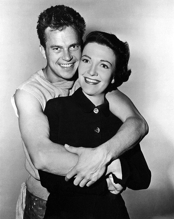 Ralph Meeker et Nancy Reagan