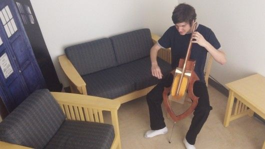 Electrical engineering student David Levi is about to embark on the first production run of his Magnetic Cello.