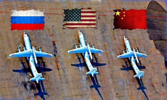 WW3: US Prepares For Confrontation With Russia & China: