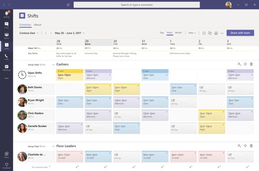 Get Started With Shifts In Microsoft Teams Project Management Professional Program Management Pmp Exam