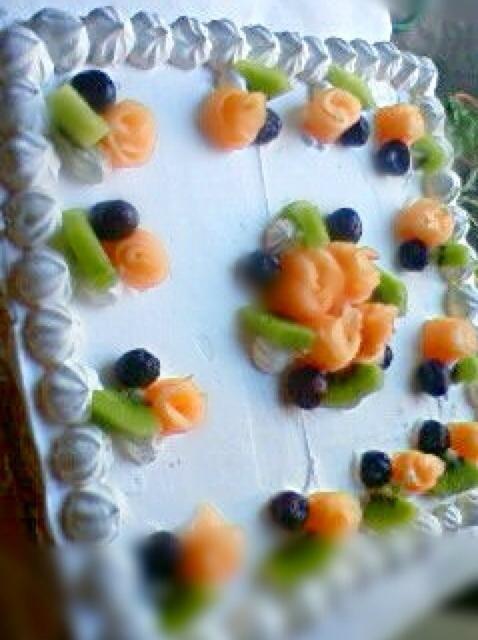 叔母の50歳の誕生日パーティー用!人生最大(笑) - 5件のもぐもぐ - バースデーケーキ by いづみ