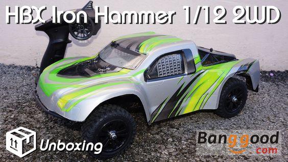 • HBX - IRON Hammer 1/12 2WD -  Unboxing •