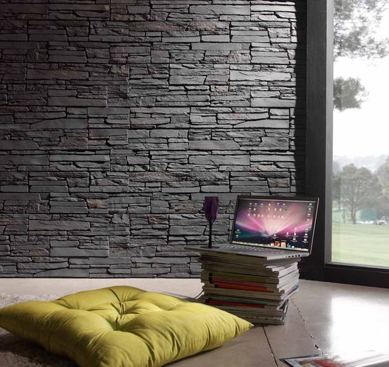 Tipos de papel tapiz para paredes buscar con google - Decoracion paredes con papel ...