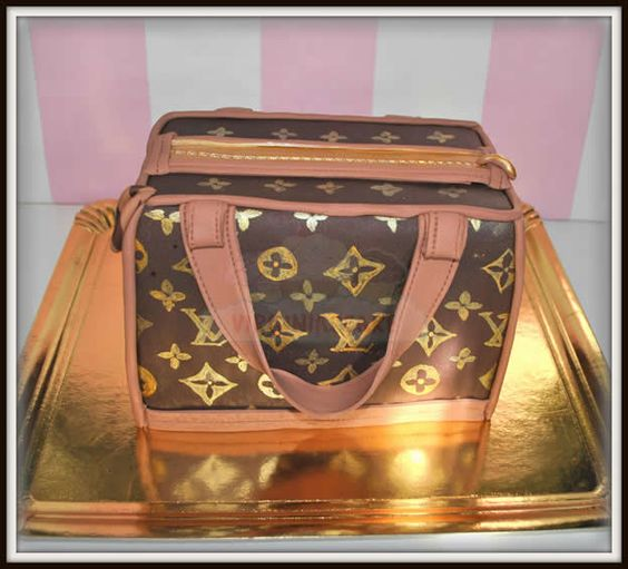Virginias Cake: Tarta Bolso Louis Vuitton