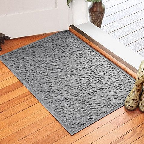 Weather Guard Boxwood 30 Inch X 45 Inch Door Mat In Medium Grey