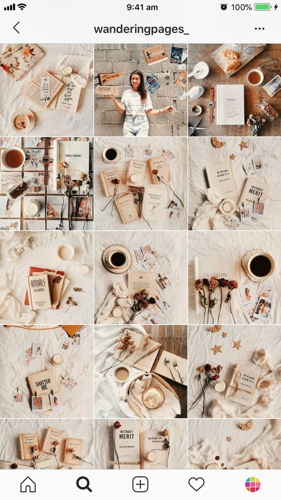 The Best Instagram Feed Ideas For Bookstagrammers Best Instagram Feeds Instagram Feed Ideas Instagram Theme Feed Cool instagram wallpaper feeds