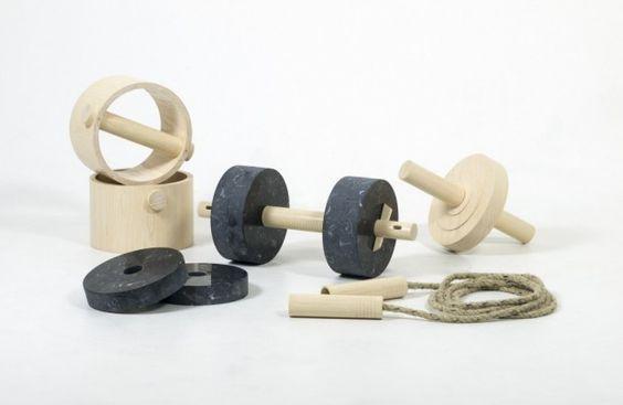 Accessoires de remise en forme FEMTON par l'étudiant Ali Safa A - Journal du Design