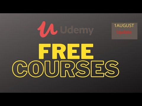 udemy youtube course free