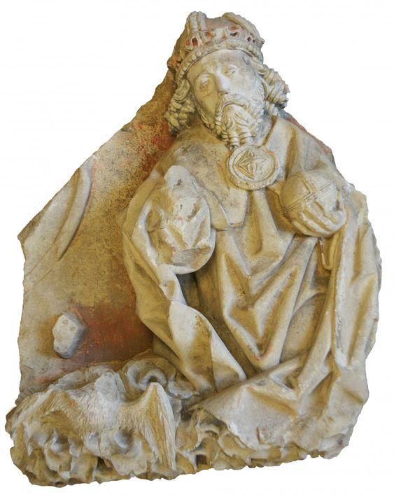 Godsbeeld in Walburgiskerk, staand