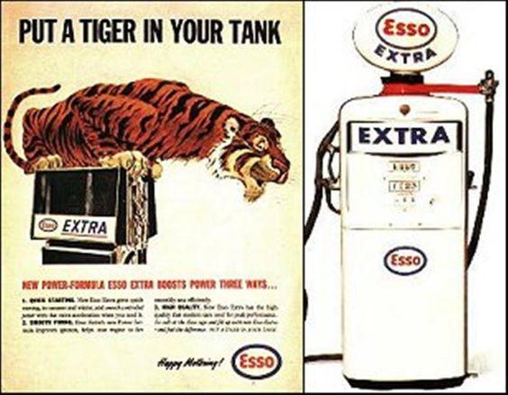 Esso's Tiger in the Tank Ad