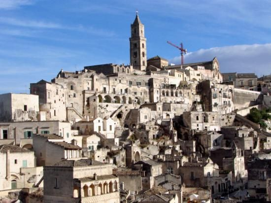 Matera, Italy. Photos can not describe the insane beauty of this city.