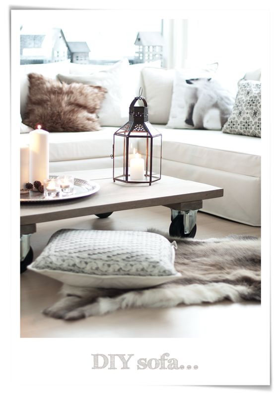 The floor, Deer and Trays on Pinterest