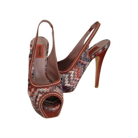 Pre-owned - Leather sandals Missoni Sale Really Buy Cheap Best Store To Get Cheap Sale Get To Buy MEAWiZFs