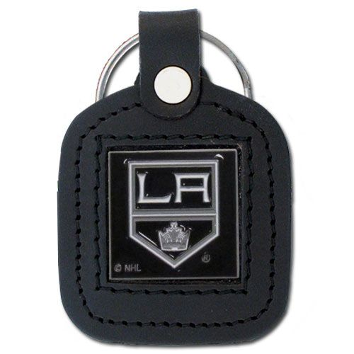 Los Angeles Kings Leather Key Chain Leather Keychain Leather Key Leather