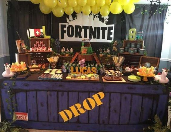 Las Mejores 30 Ideas Para Fiesta De Fornite Boy Birthday Party Themes 12th Birthday Party Ideas Boy Birthday Parties