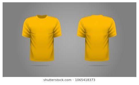 Download Yellow T Shirt Images Stock Photos Vectors Yellow T Shirt Template Yellowt Shirttemplate Yellow Mustard T Sh Shirt Template T Shirt Image Yellow T Shirt