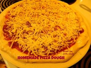 Homemade Pizza Dough from The Pioneer Woman. Easy as pie! Make a day ahead.  And how I met my husband.