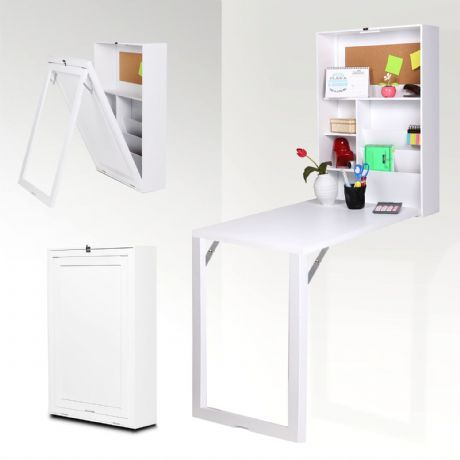 Mesa plegable escritorio multiusos entertainment for Mueble cocina abatible