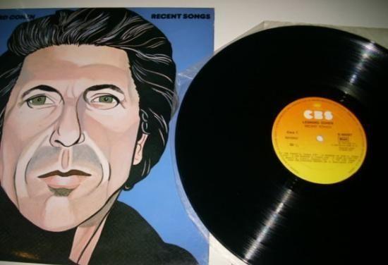 Leonard Cohen - Recent Songs (Vinyl, LP, Album) at Discogs