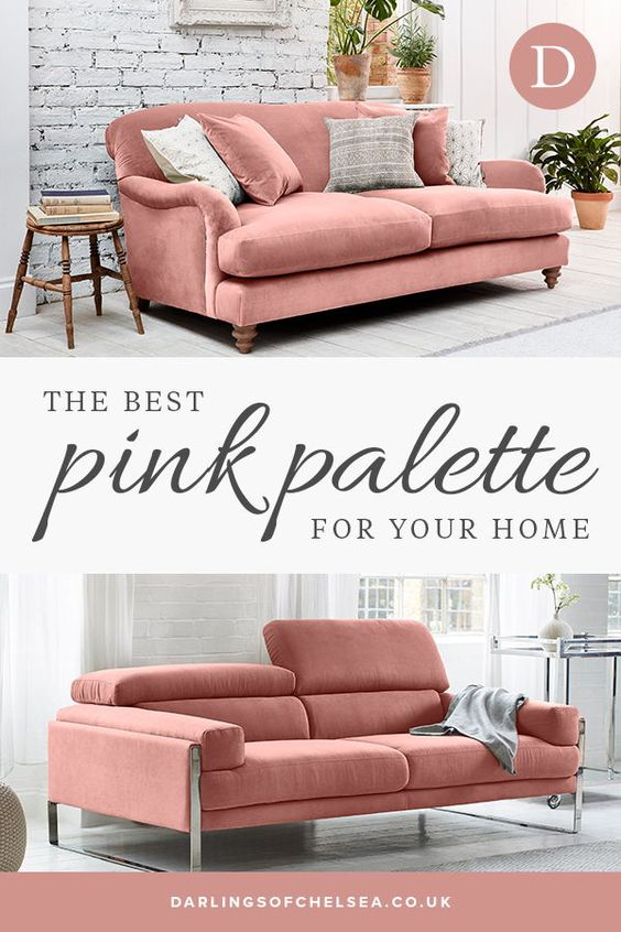 Pink Sofa Inspirations Darlings Of Chelsea Pink Sofa Inspiration Pink Home Decor Pink Sofa