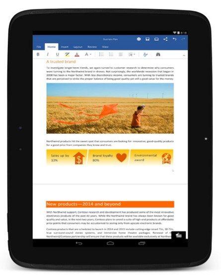 Microsoft Office para Android sale de la Preview y lanzan Outlook para iOS y Outlook Preview para Android